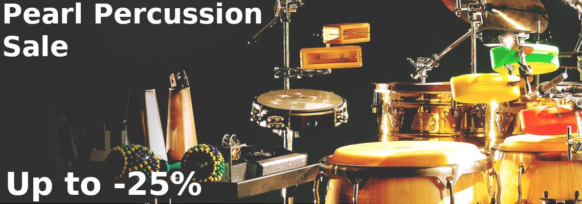 Pearl Percussion sale