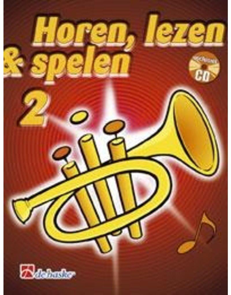 de haske Horen, lezen & spelen methode voor trompet 2