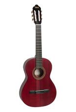 Valencia VC201 TWR 1/4 Classical guitar antique red