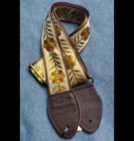 Souldier St Anja Orange/Gold guitar strap