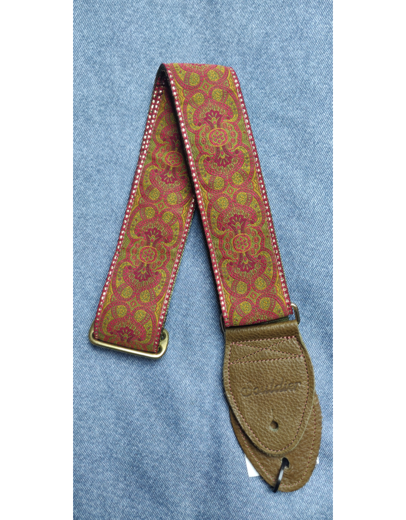 Souldier St Arabesque Red/Olive guitar strap