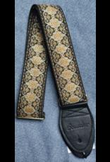 Souldier Persian Black guitar strap