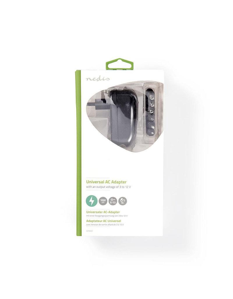 Nedis Universal AC Adapter 3 to 12V