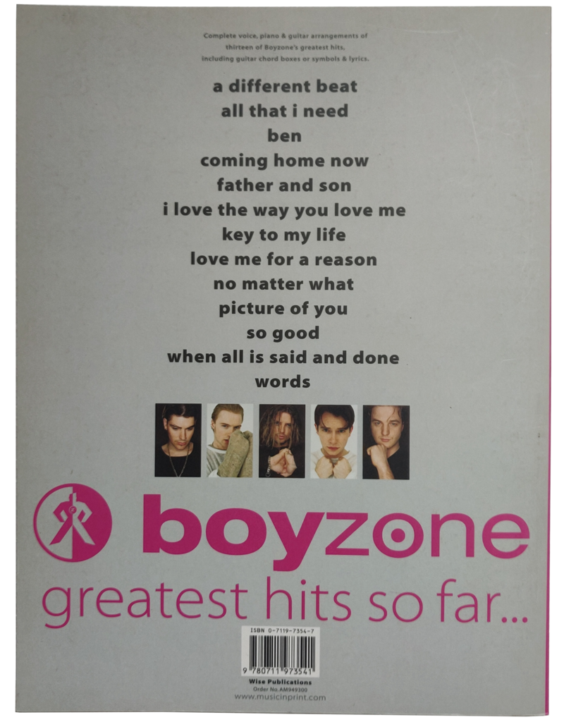 Boyzone - Greatest hits so far...