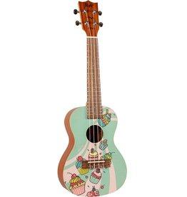 Flight Cupcake concert ukulele