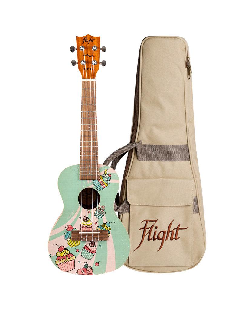 Flight AUC-33 Cupcake concert ukelele