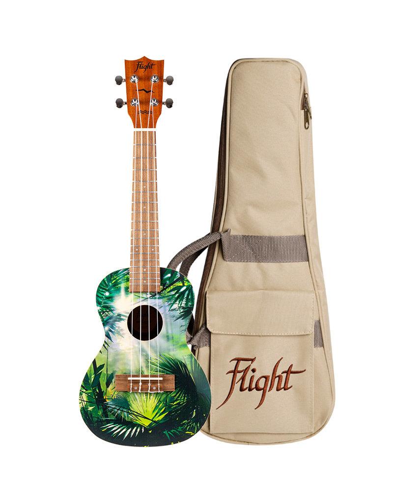 Flight AUC-33 Jungle concert ukulele