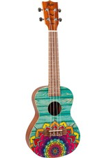 Flight AUC-33 Mansion concert ukulele