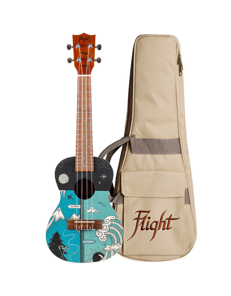 Flight AUC-33 Two seasons concert ukelele