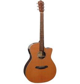 Rathbone No.3 Ebony acoustic/electric guitar