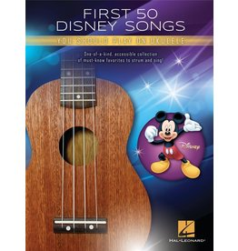 Hal Leonard First 50 Disney Songs Ukelele
