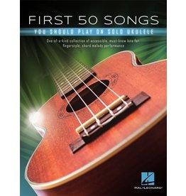Hal Leonard First 50 Songs Solo Ukelele