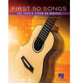 Hal Leonard First 50 Songs Strum Ukulele