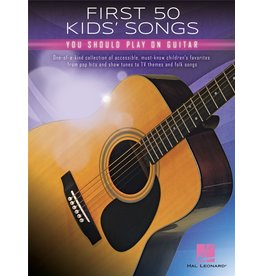 Hal Leonard First 50 Kids songs guitar