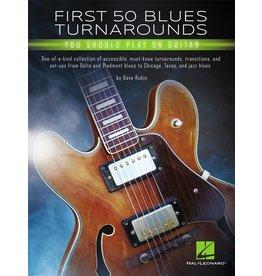 Hal Leonard First 50 Blues turnarounds gitaar