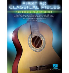 Hal Leonard First 50 Classical pieces gitaar