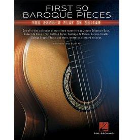 Hal Leonard First 50 Baroque pieces gitaar