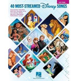 Hal Leonard The 40 Most-Streamed Disney Songs