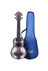 Flight TUS40 Travel Mandala Wood soprano ukulele