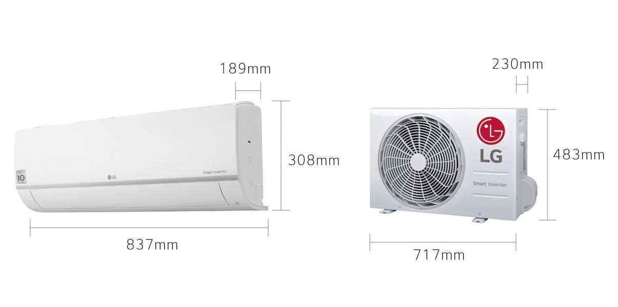 LG LG-PC12SQ-SET 3,5kW TopSeller