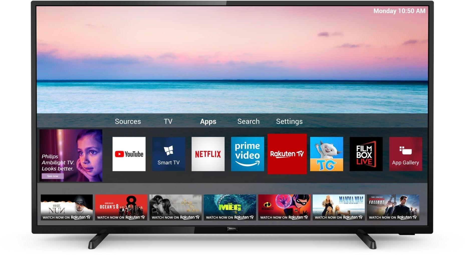 PHILIPS Philips 58PUS6504/12 - 4K TV 58 inch (147 cm) Smart TV