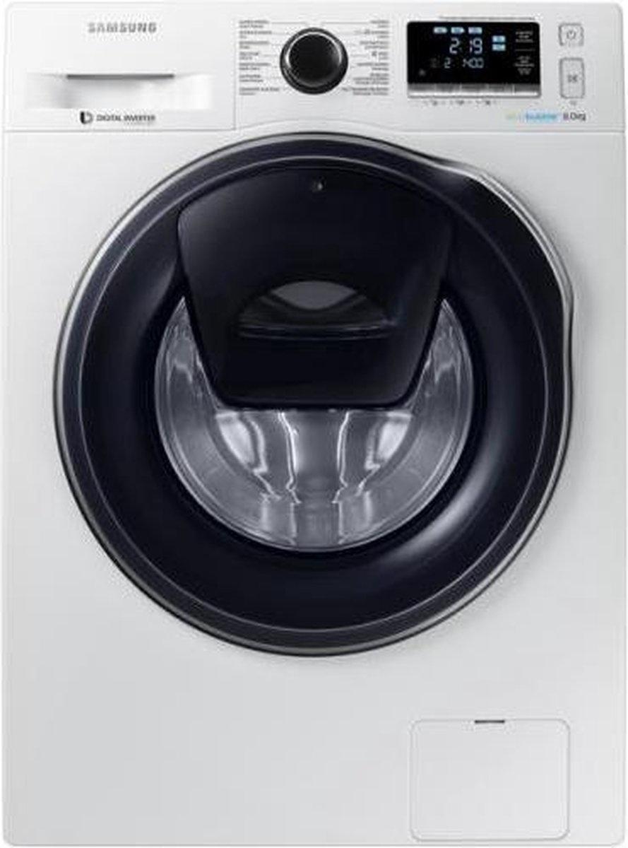 SAMSUNG Samsung WW81K6404QW - Ecobubble - Wasmachine