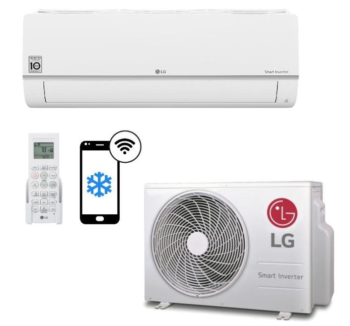 LG LG PC18SQ Airco Set 5kw, Wifi, A++ , 1800btu