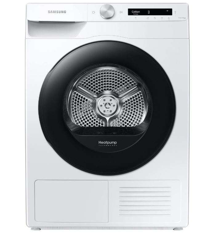 SAMSUNG Samsung warmtepompdroger DV80T5220AW - 8kg - A+++