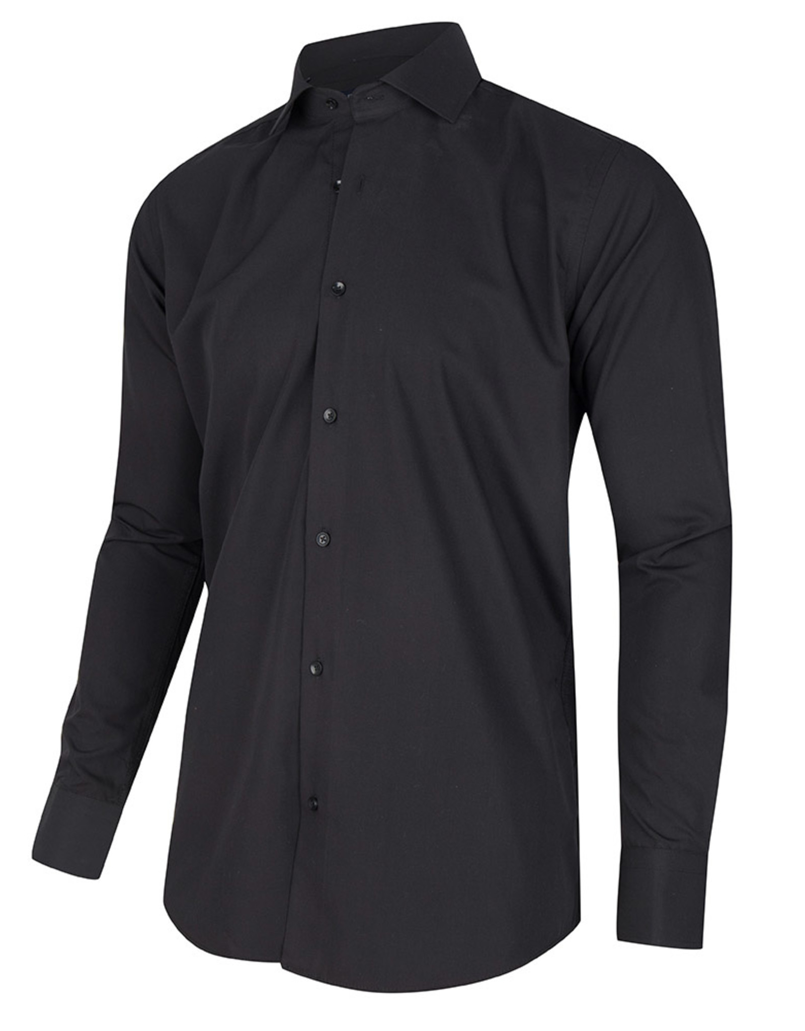 corrino Zwart Overhemd
