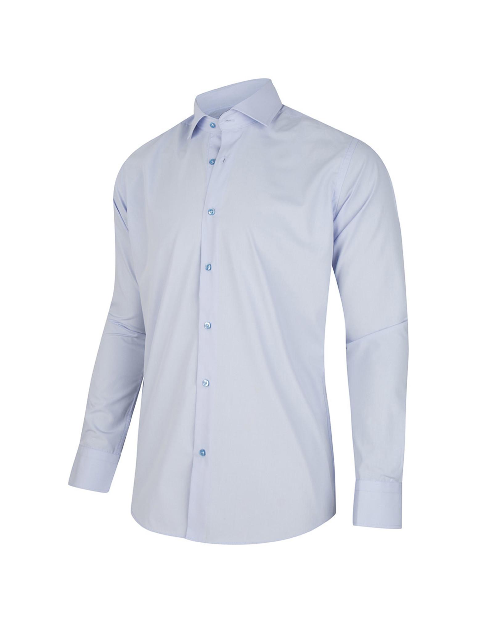 corrino Licht Blauwe overhemd