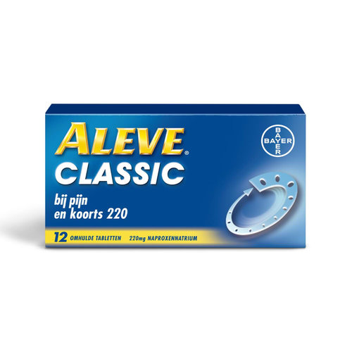 Alive Aleve Classic 220mg Tabletten 12TB