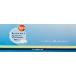 Paracetamol Tabletten 500mg 20TB
