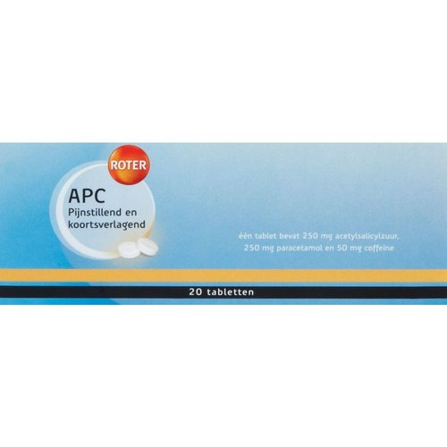 Roter Roter APC Tabletten 20TB
