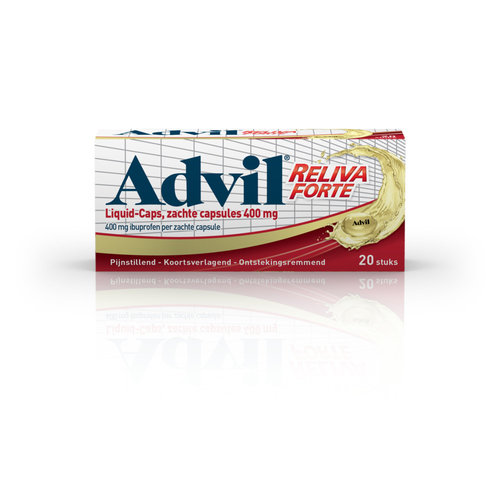 Advil Advil 400 mg Liquid Caps Ibuprofen 20 capsules