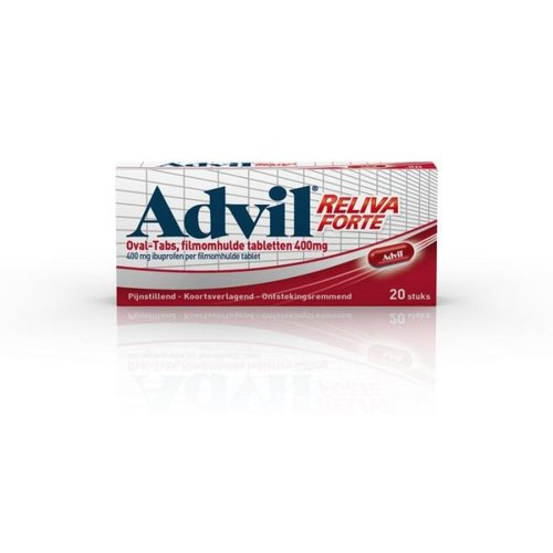 Advil Reliva Forte Oval-tabs 400mg 20TB