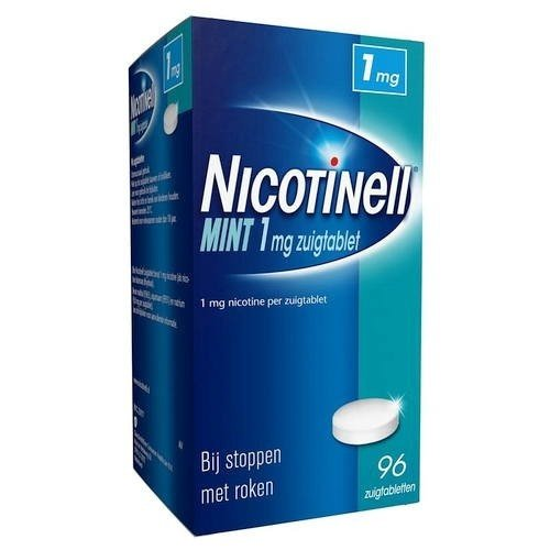 nicotinell Nicotinell Zuigtabletten Mint 1mg 96 stuks
