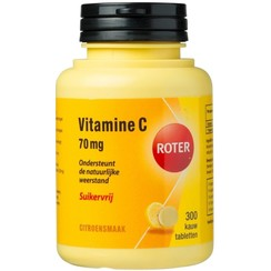 Roter Vitamine C 70mg Suikervrij 300 tabletten