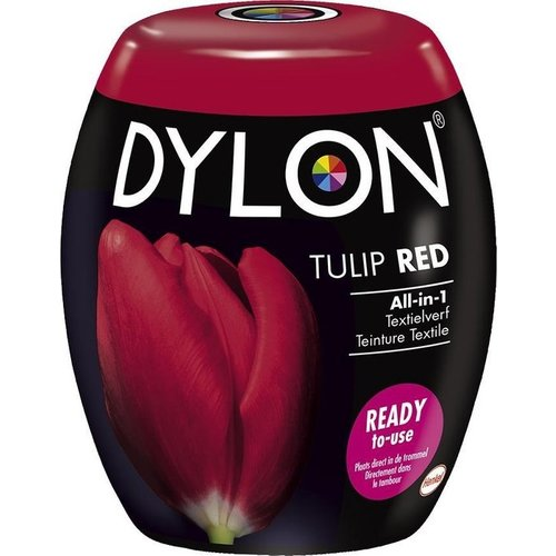 Dylon Pods Tulip Red 350g