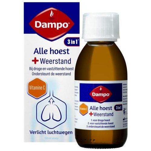 Dampo Dampo Alle hoest + weerstand 150ml