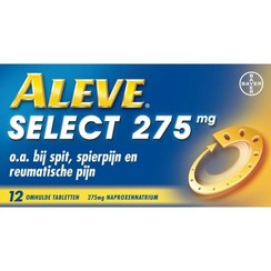 Aleve Select Naproxen 275mg 12 tabletten