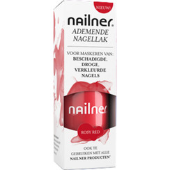 Nailner Nagellak Rosy Red (8ml)