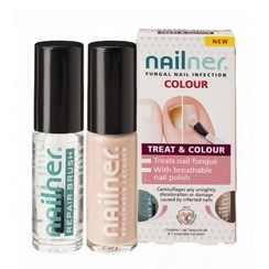 Nailner Colour Behandelt & Maskeert 2x 5ml