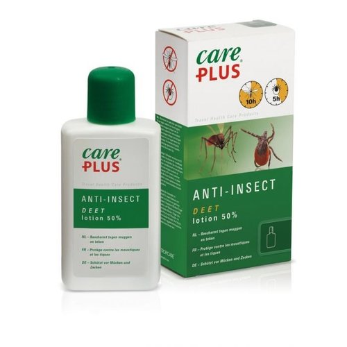 Care Plus Anti-Insect Deet Lotion 50% 50ml