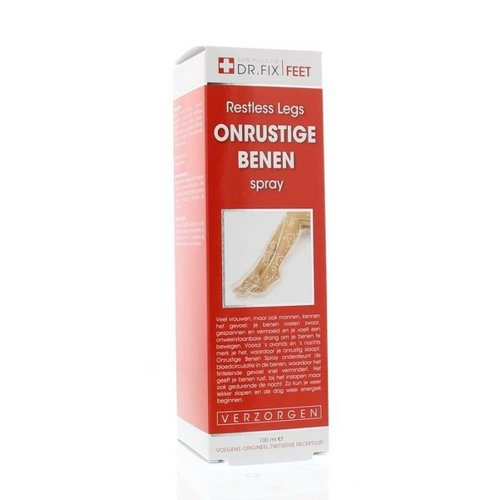 Dr.Fix Onrustige Benen Spray 100 ml