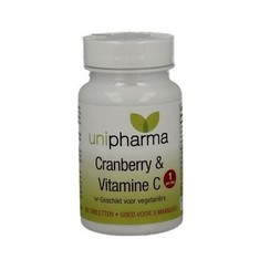Unipharma Cranberry & Vitamine C 90 tabletten