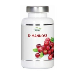 Nutrivian D-Mannose 500 mg 50 capsules