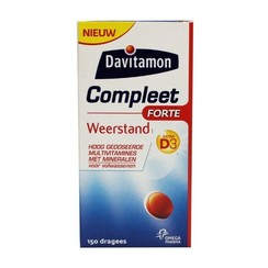 Vitamine Compleet Weerstand Forte 150 dragees