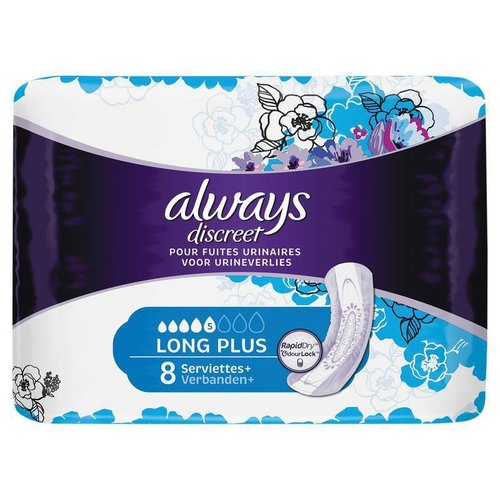 Always Always discreet maandv l plus 8st