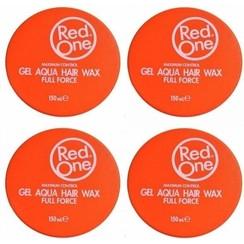 Red one Orange Hair Wax| Haarwax| Haargel| Gel| Aqua wax| Oranje Aqua haarwax| 4 stuks| 4 pieces