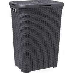Curver Style Wasbox - 60L - Antraciet